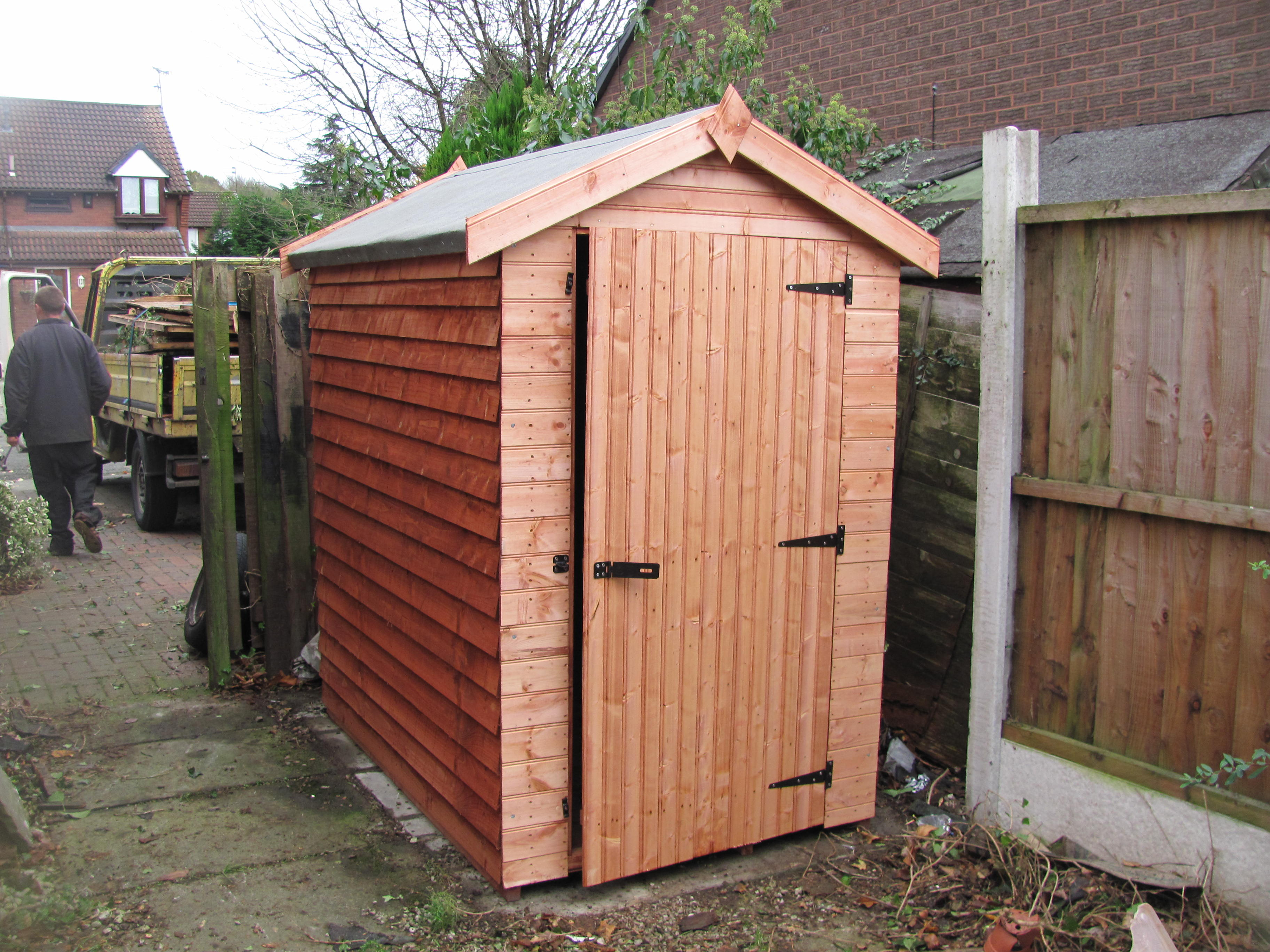 Weather board apex shed no1 discount shedsno1 discount sheds for Inexpensive sheds