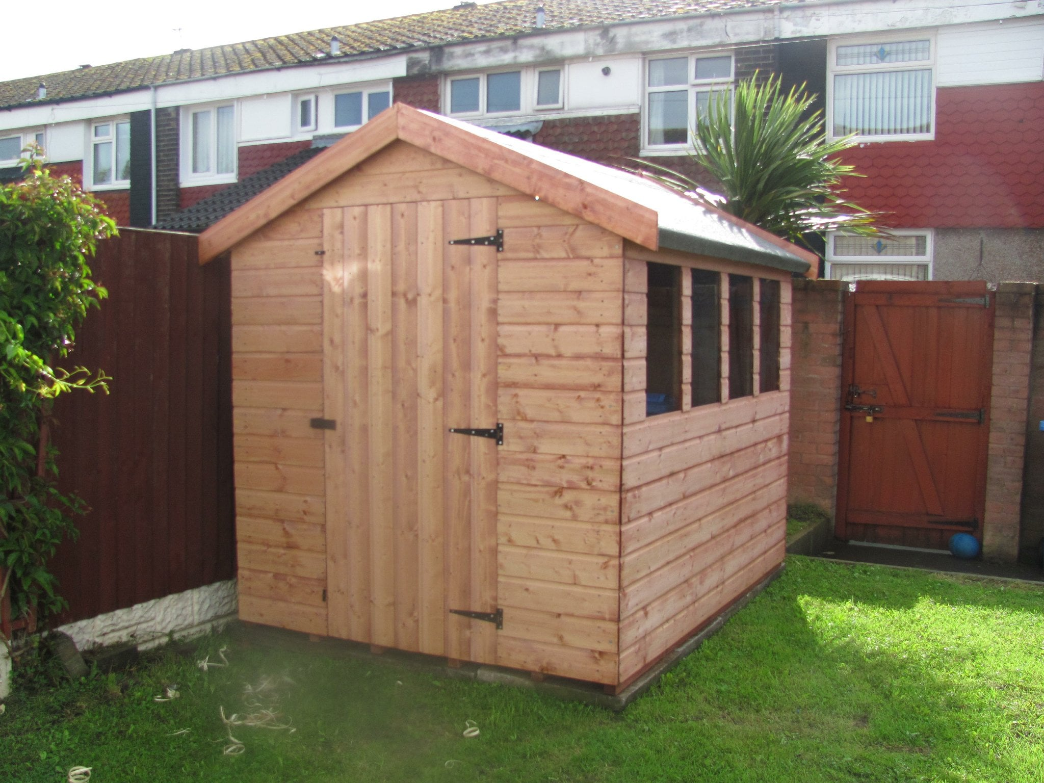 heavy duty tg apex shed