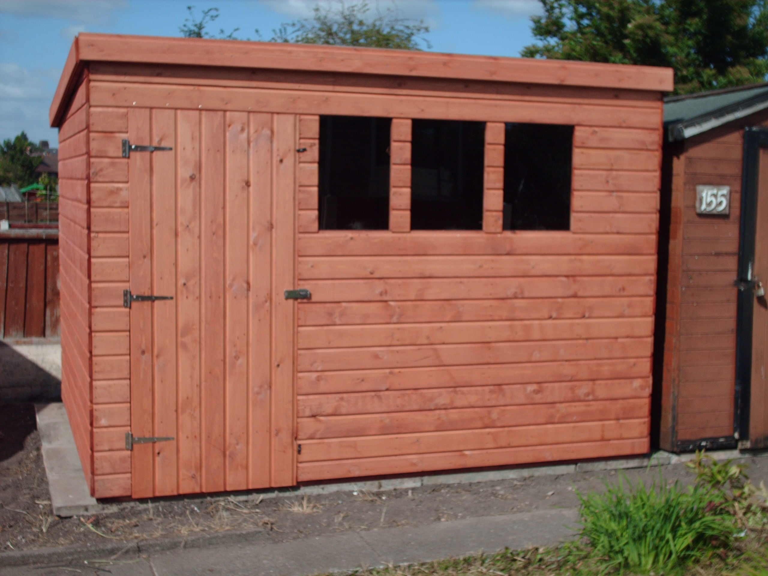 Heavy duty t g pent no1 discount shedsno1 discount sheds for Garden shed january sale