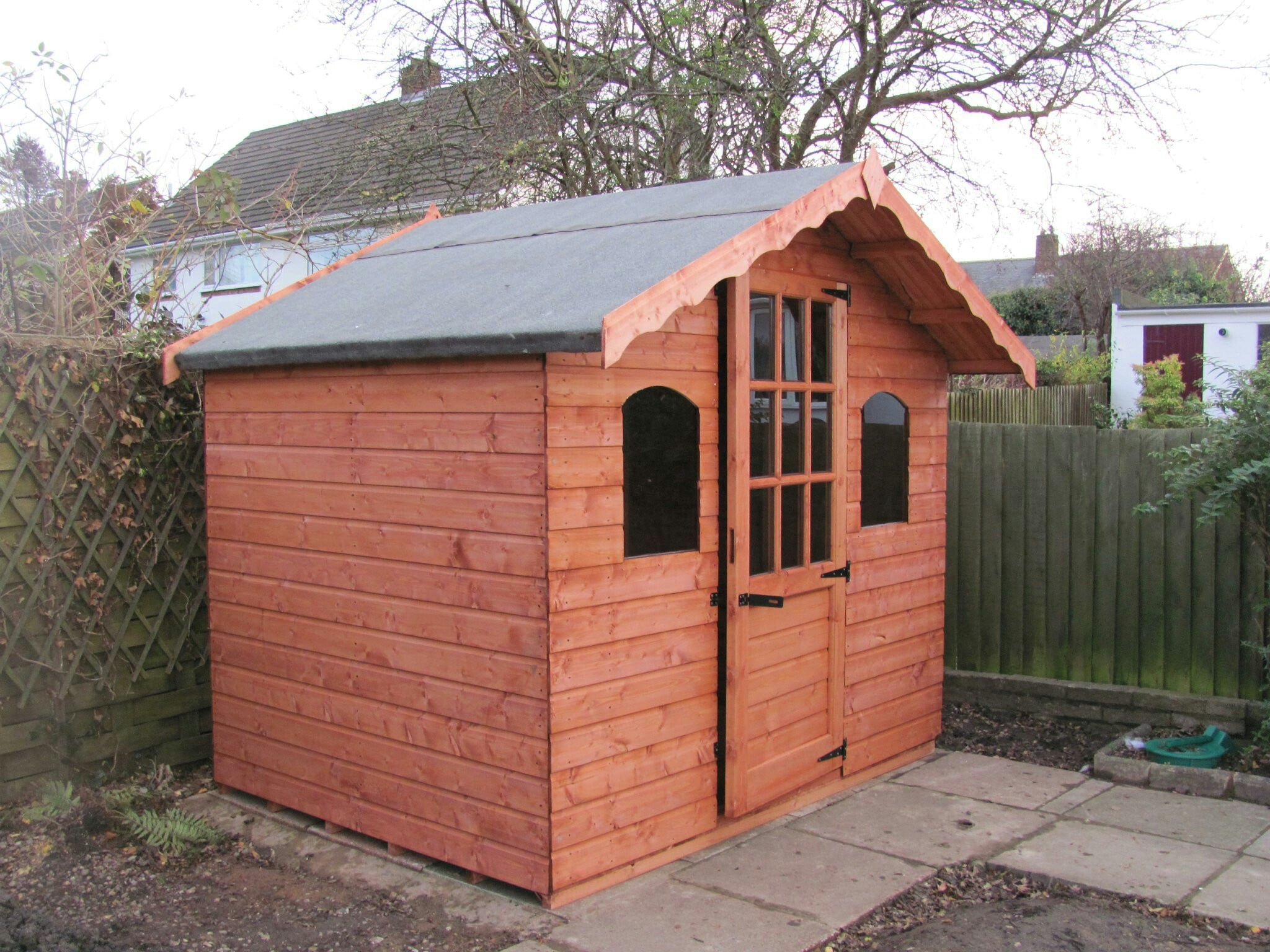 Swiss lodge shed no1 discount shedsno1 discount sheds for Inexpensive sheds